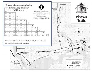 Pinawa Trail Map