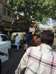 A rickshaw ride through Old Delhi